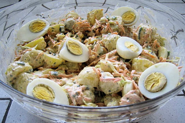 4th july salad (salade de pommes de terre)