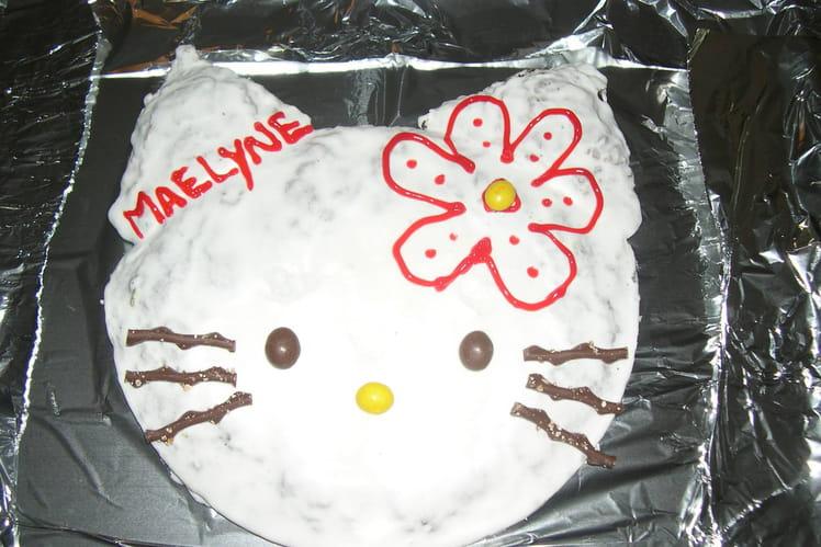 Gâteau d'anniversaire Hello Kitty