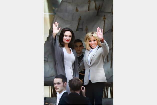 Brigitte Macron le 29janvier 2018
