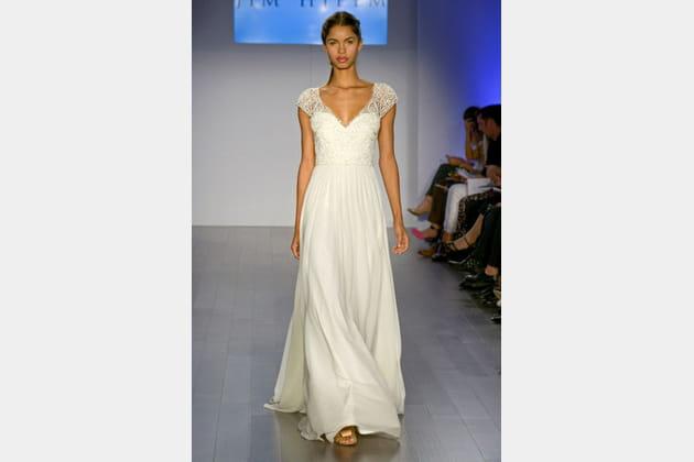 La robe romantique Jim Hjelm
