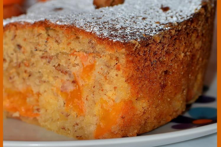 Moelleux aux abricots et noisettes