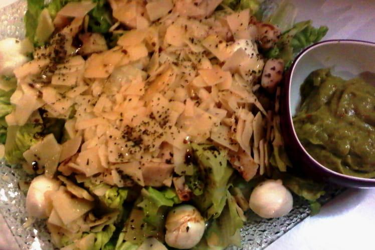 Salade Cesar à la mexicaine