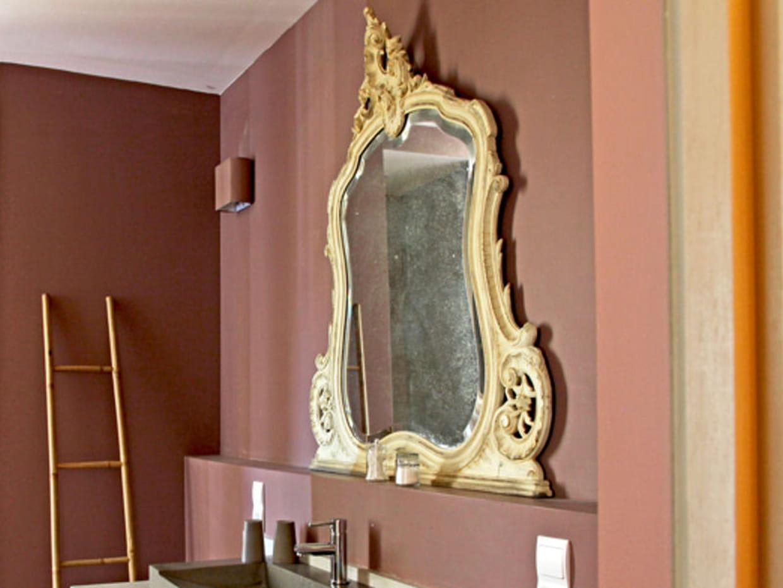 Un miroir ancien for Miroir de poche ancien