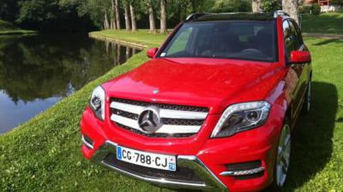 Essai du SUV Mercedes GLK restylé 2012