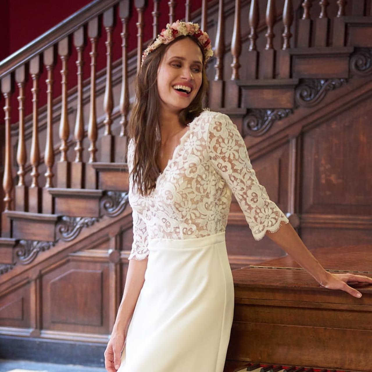 Les Belles Robes De Mariée En Dentelle