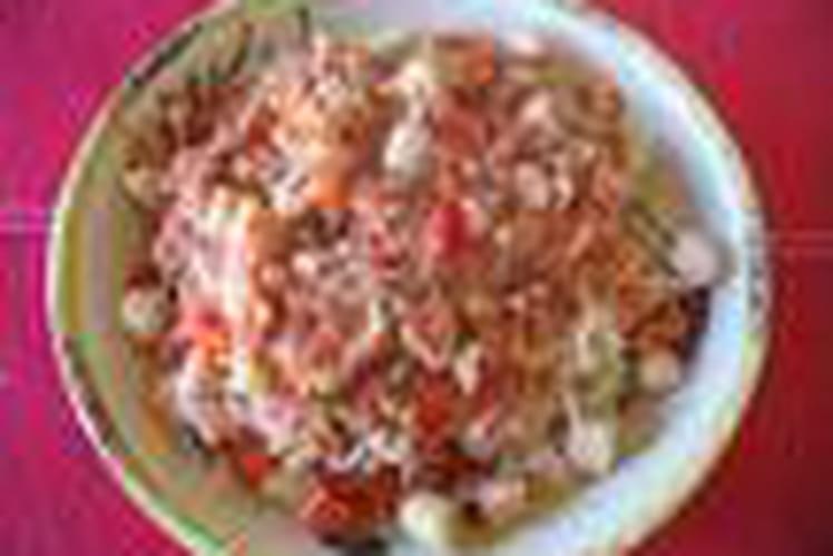 Crevettes au vin