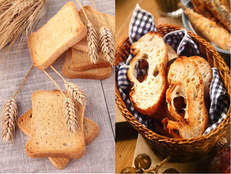 Biscotte ou pain grillé