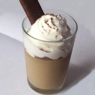 panna cotta façon café liégeois