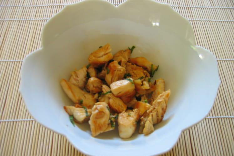 Salade fraîche de poulet