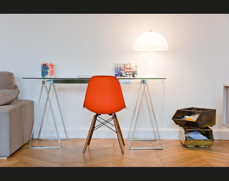 Un coin bureau minimaliste
