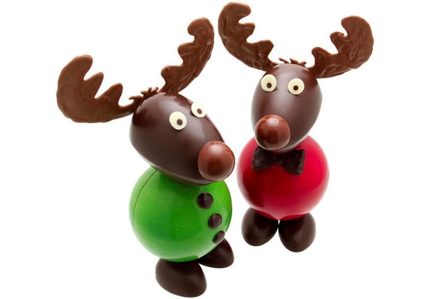 Chocolats de Noël: on fond!