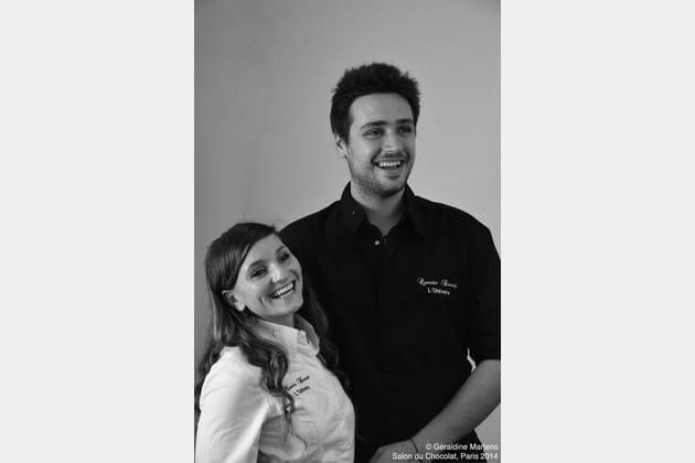 Noémie Honiat et Quentin Bourdy, leur visite au Salon de l'Agriculture