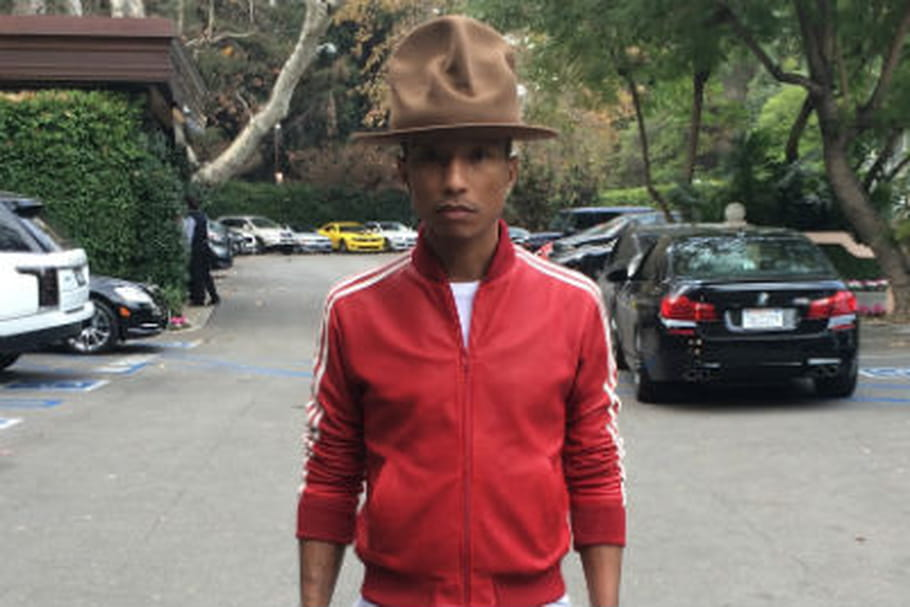 Le chapeau de Pharrell Williams en vente sur eBay
