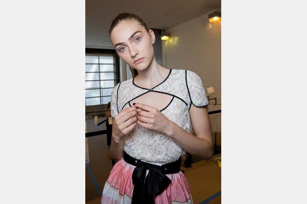 Monique Lhuillier (Backstage) - photo 33