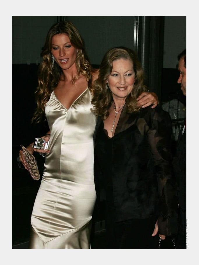 Gisele Bundchen et sa mère Vania Nonnenmacher