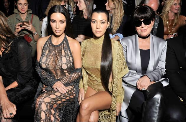 Kim Kardashian, Kourtney Kardashian et Kris Jenner