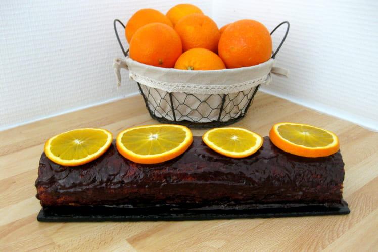 Bûche à l'orange sans gluten