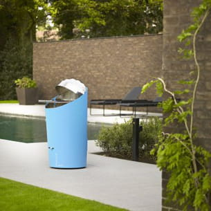 un barbecue au design original. Black Bedroom Furniture Sets. Home Design Ideas