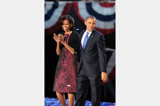 Michelle Obama le 6novembre 2012