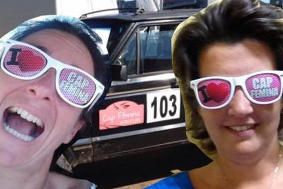 """Ludivine Vaillant et Florence Bouchard : """"Un rallye pour revenir à des valeurs oubliées"""""""