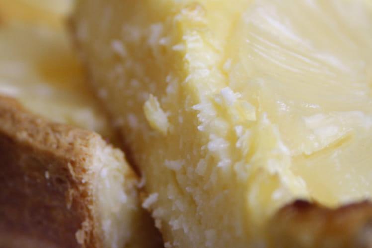Flan noix de coco ananas