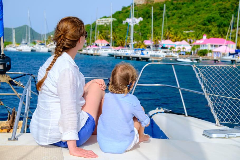 Voyager en bateau avec des enfants : nos astuces