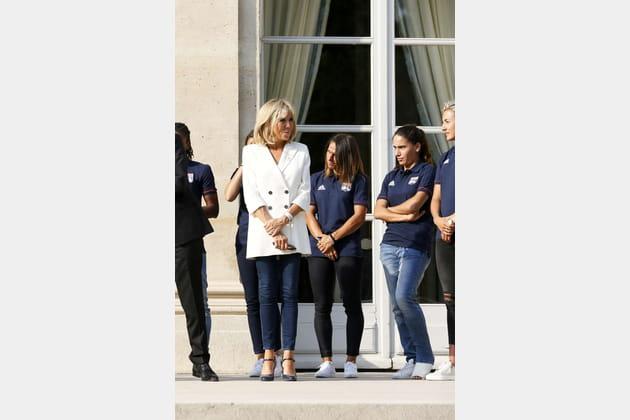 Brigitte Macron le 20juin 2017