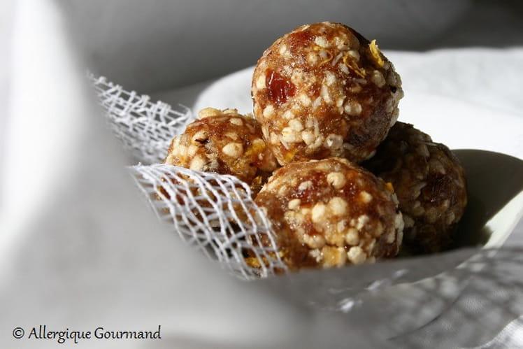 Energy Balls bio au citron et quinoa