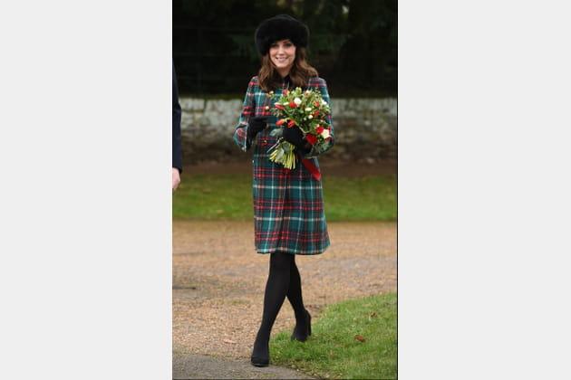 Kate Middleton le 25decembre 2017