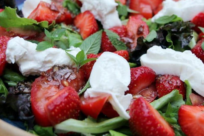 Recettes de salades ensoleillées