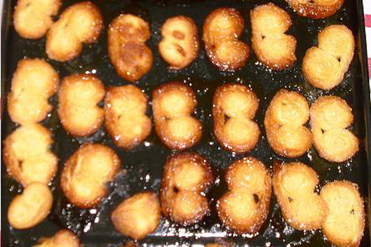 Palmiers au sucre