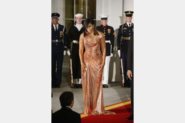 Michelle Obama le 18octobre 2016