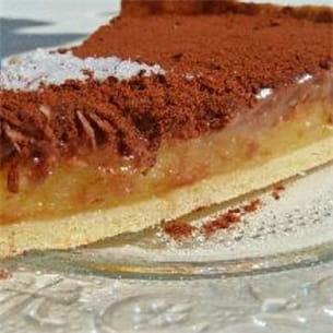 tarte au citron à l'orange sanguine