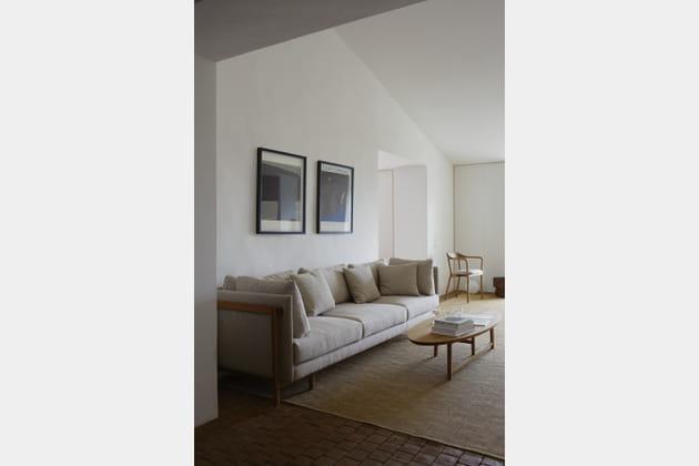 Canapé Frame medium sofa, par Neri&Hu pour De La Espada