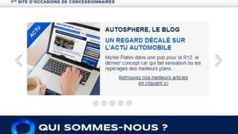 Autosphere.fr : voitures d'occasions