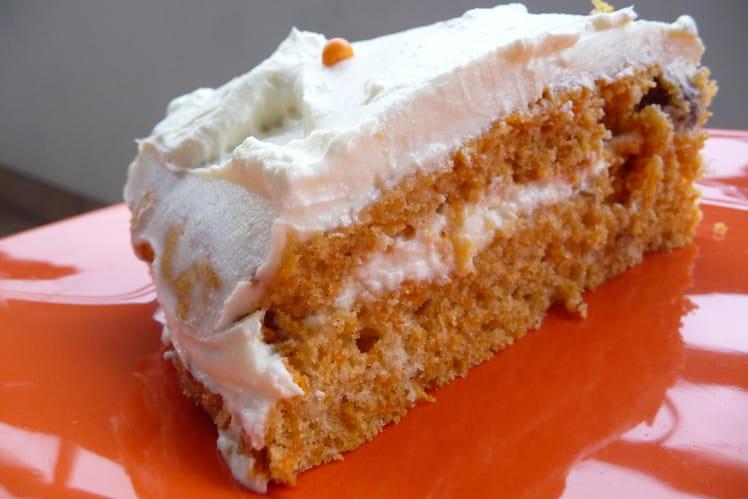 Carrot Cake avec glaçage Philadelphia et mascarpone