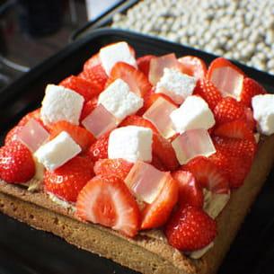 tarte aux fraises glossy glossy