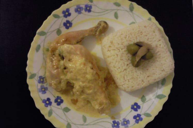 Poulet au curry des débutants