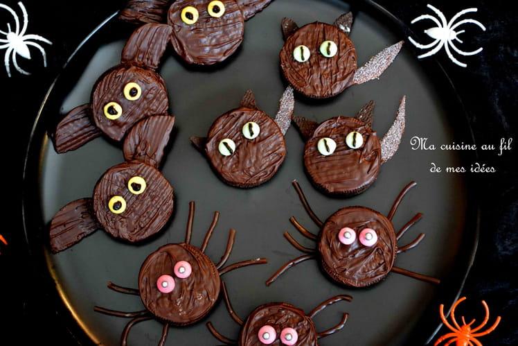 Biscuits horrifiques d'Halloween aux Oréo