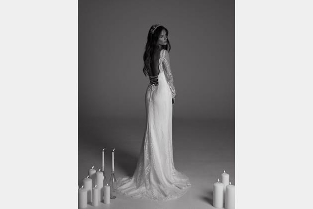 Robe de mariée Aleph, de dos