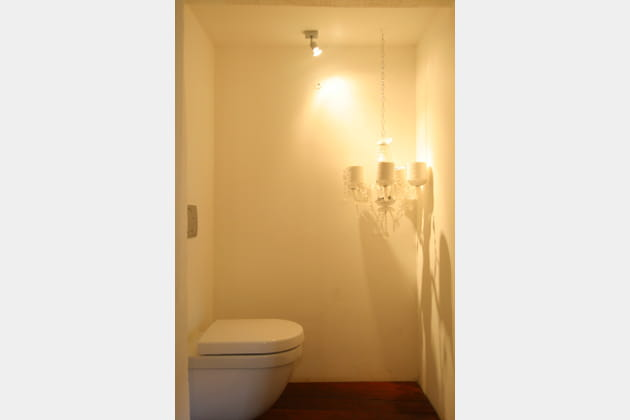 Toilettes immaculées