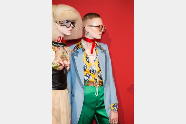 Gucci (Backstage) - photo 35