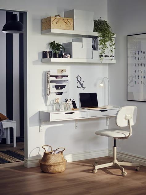 Etagère avec tiroirs EKBY ALEX IKEA