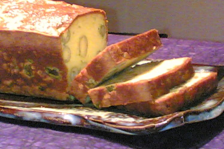 Cake olives et thym
