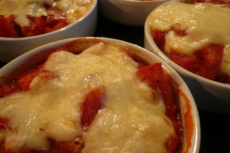 Gratins de tomates du lendemain