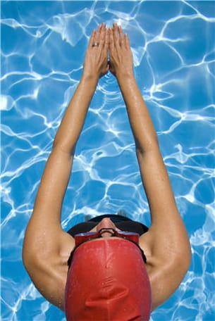 comme les autres sports, la natation requiert un échauffement.