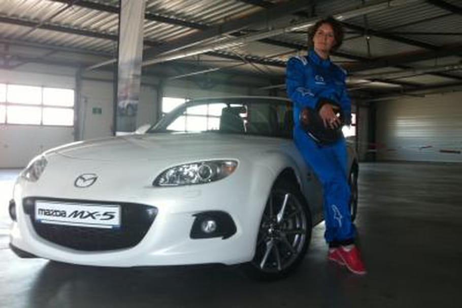 Mazda MX-5 sur circuit