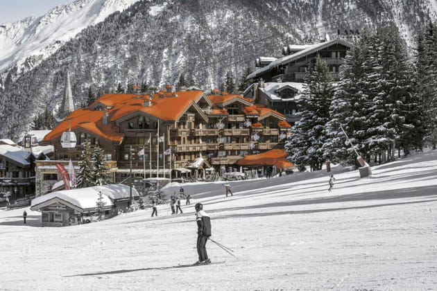 Hôtel***** Grandes Alpes Private Hotel