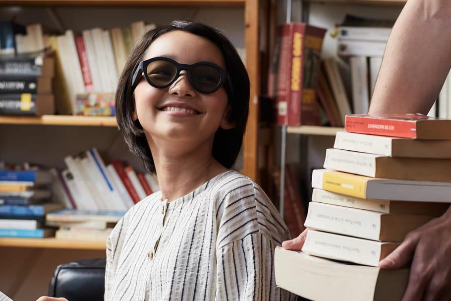Lexilens®, les premières lunettes pour enfants dyslexiques