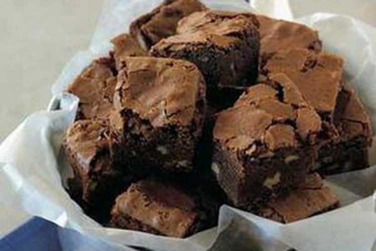 Brownie au chocolat noir et noix de pécan